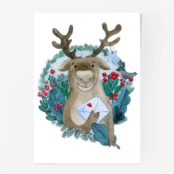 Постер «Северный олень»