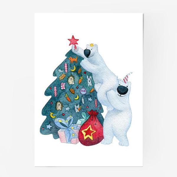 Постер « Подготовка к Новому году»