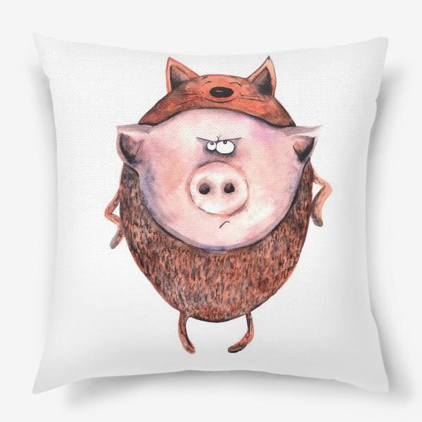 Подушка «Свинтус»