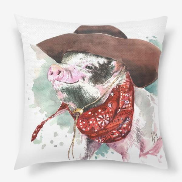 Подушка «Настоящий ковбой»