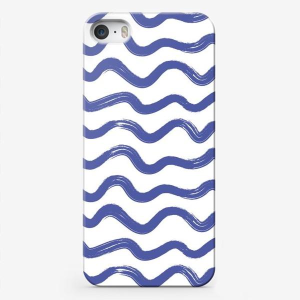 Чехол iPhone «wave1»