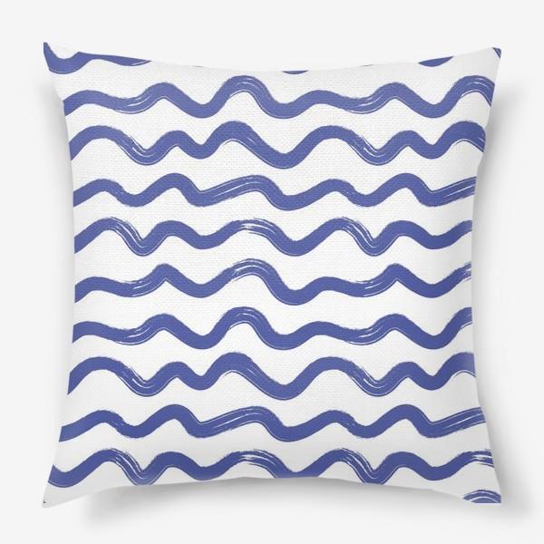 Подушка «wave1»