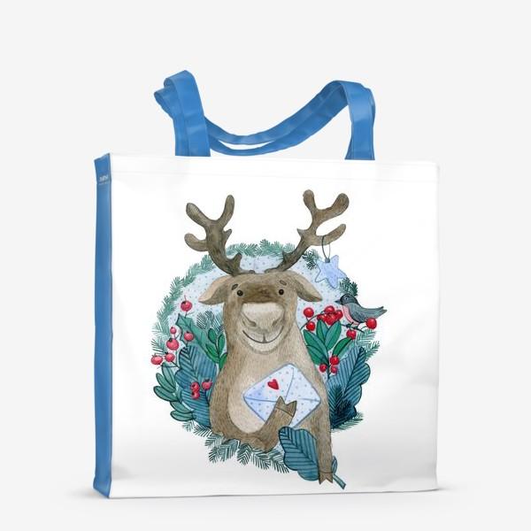 Сумка-шоппер «Северный олень»