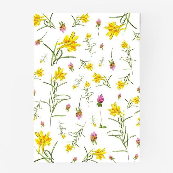 Постер «Летние цветы»