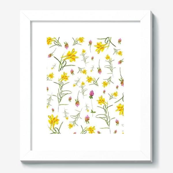 Картина «Летние цветы»