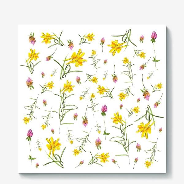 Холст «Летние цветы»