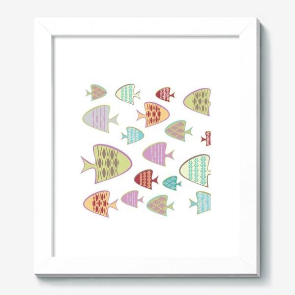 Картина «Цветные рыбки.»