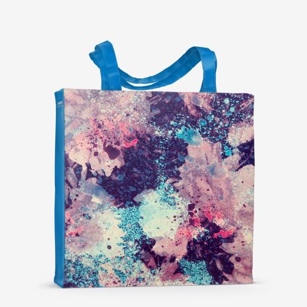 Сумка-шоппер «акварельные цветы»