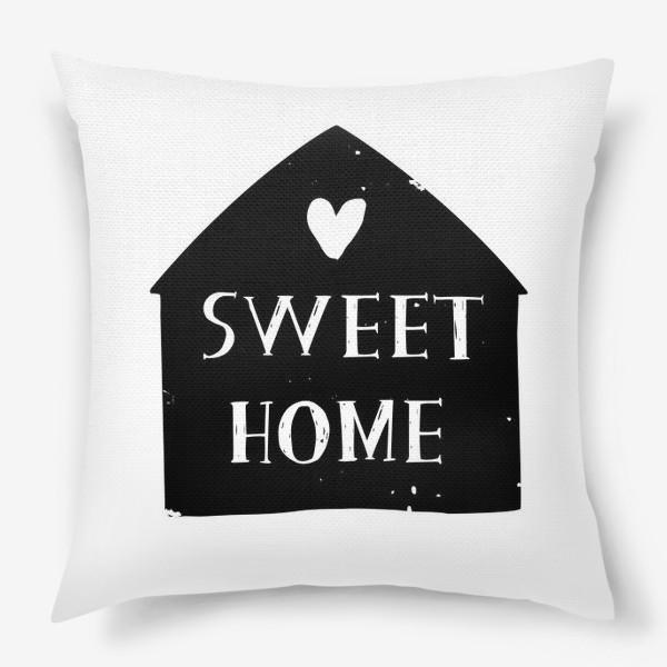 Подушка «Sweet Home»