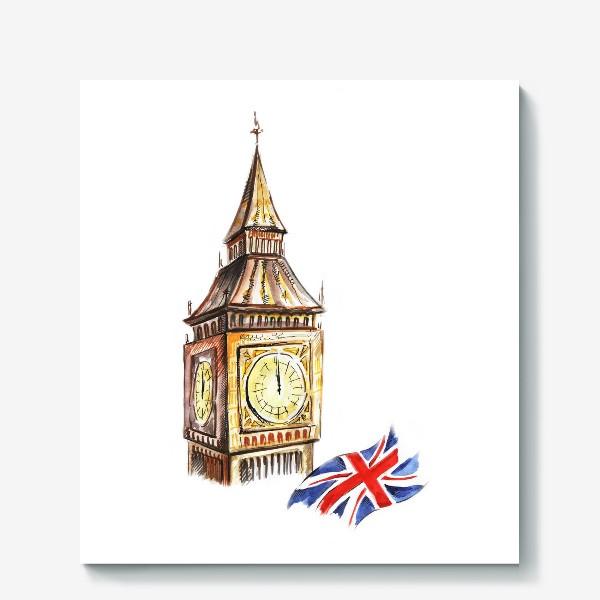 Холст «Англия»