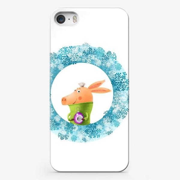 Чехол iPhone «Хрюшка 3»