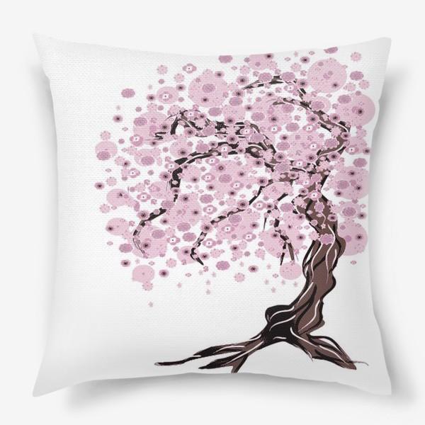 Подушка «Сакура»