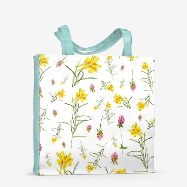 Сумка-шоппер «Летние цветы»