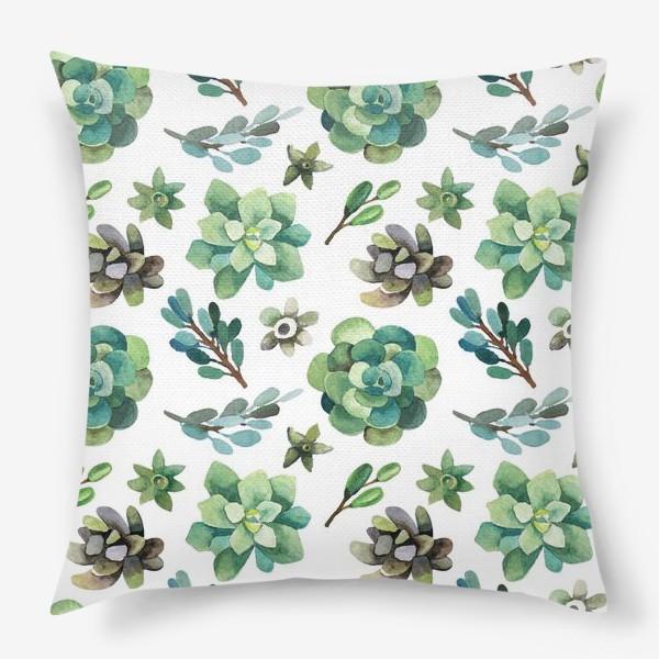 Подушка «Горные растения»