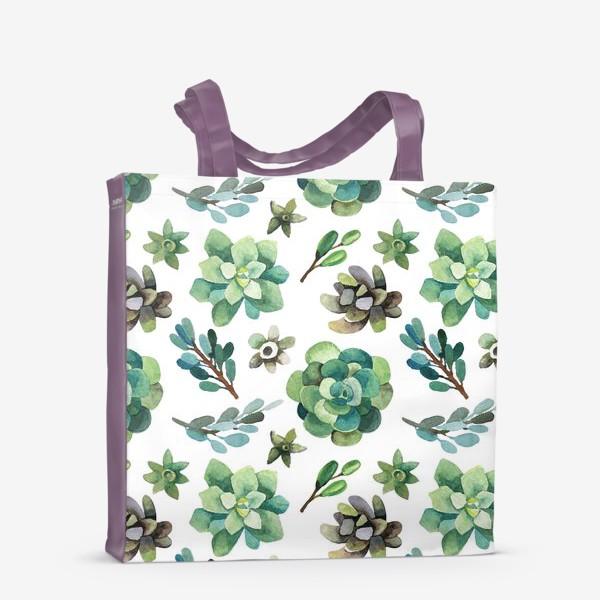 Сумка-шоппер «Горные растения»