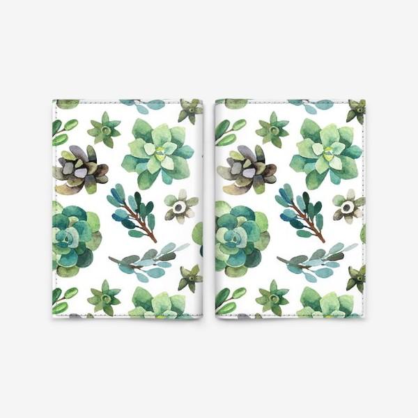Обложка для паспорта «Горные растения»