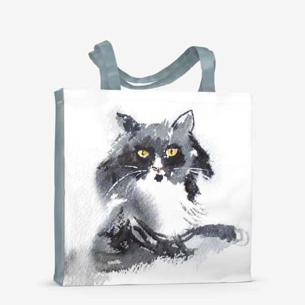 Сумка-шоппер «Кошка отдыхает»