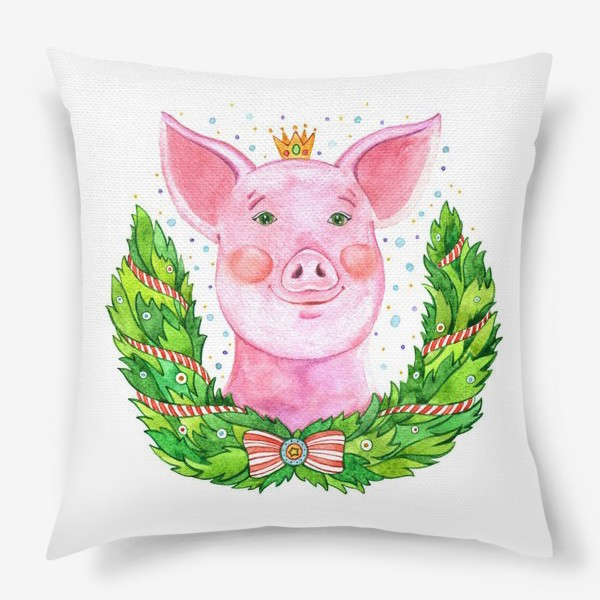 Подушка «Счастливая Свинюша»