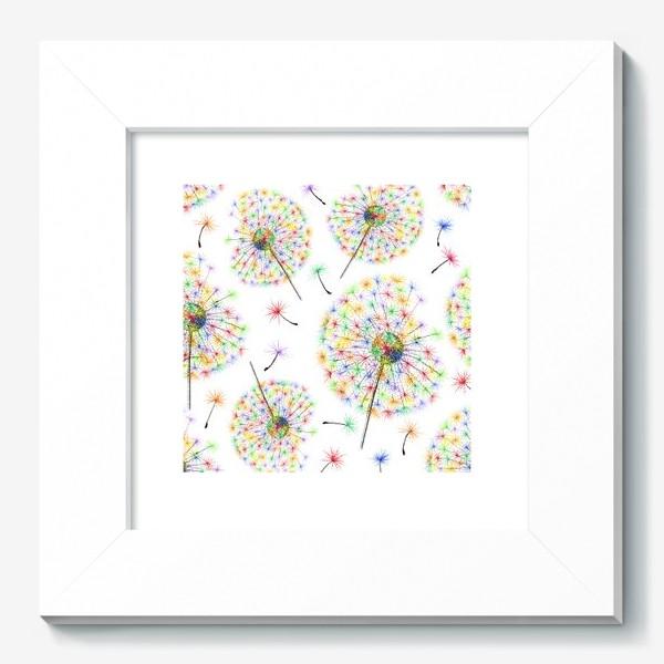 Картина «Одуванчики-радуга»