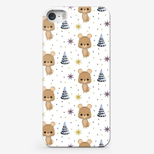 Чехол iPhone «зимний паттерн»