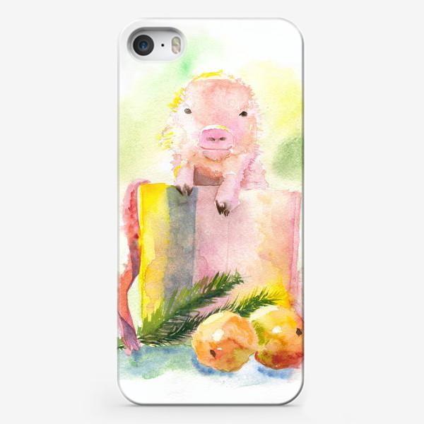 Чехол iPhone «Сюрприз под елкой»
