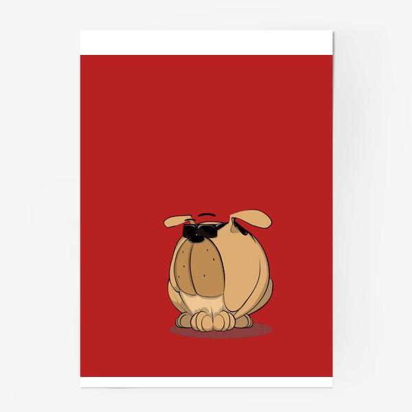 Постер «Крутой мой верный пес»