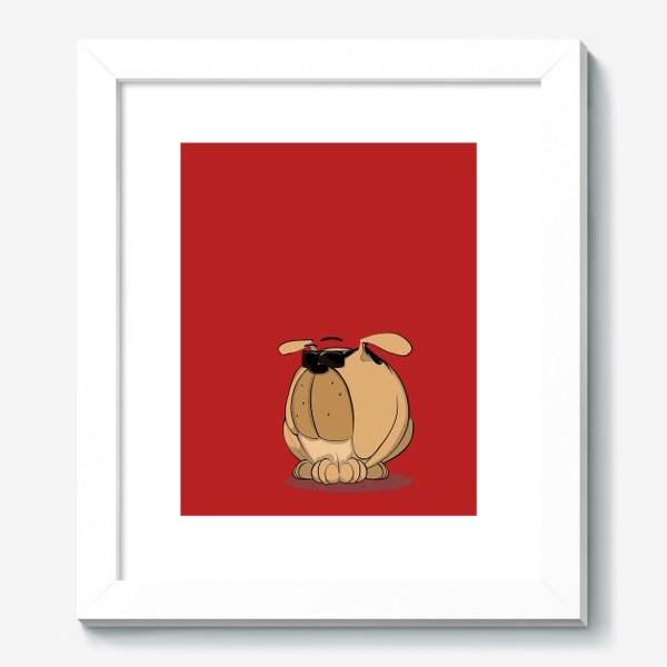 Картина «Крутой мой верный пес»