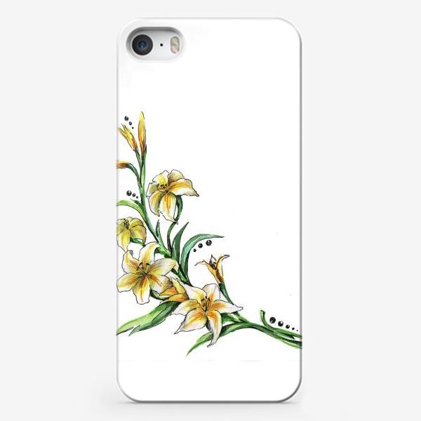 Чехол iPhone «Гладиолус»