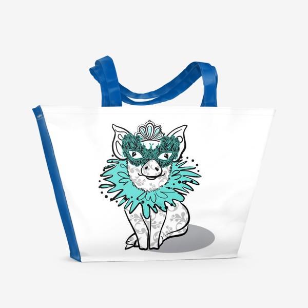 Пляжная сумка «Piggy»
