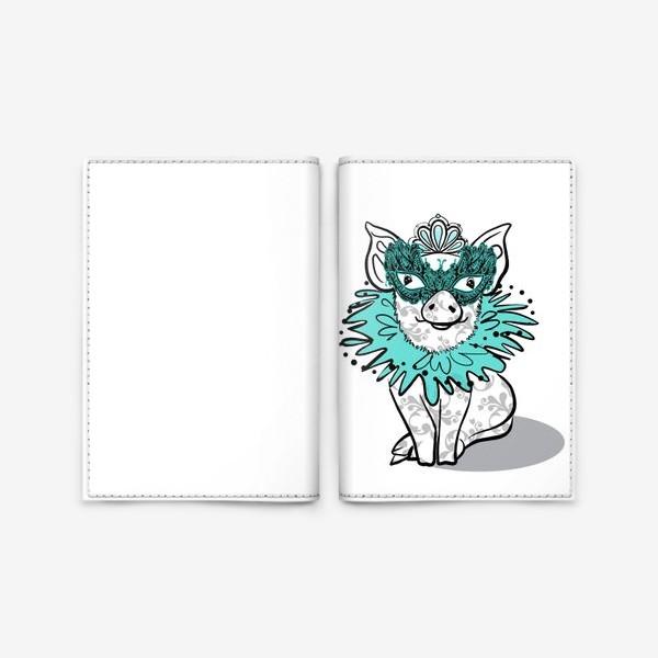 Обложка для паспорта «Piggy»