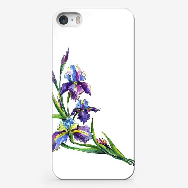 Чехол iPhone «Ирисы»