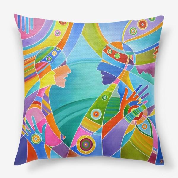 Подушка «Гармония любви»