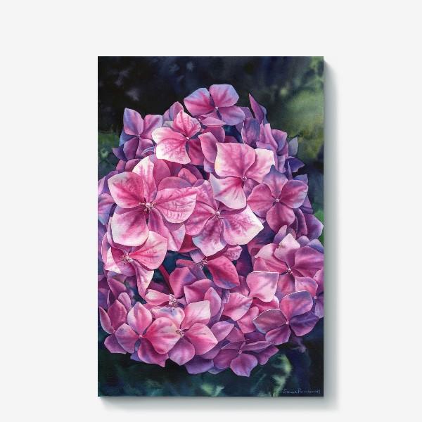 Холст «Spring hydrangea»