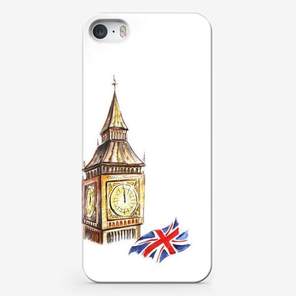 Чехол iPhone «Англия»