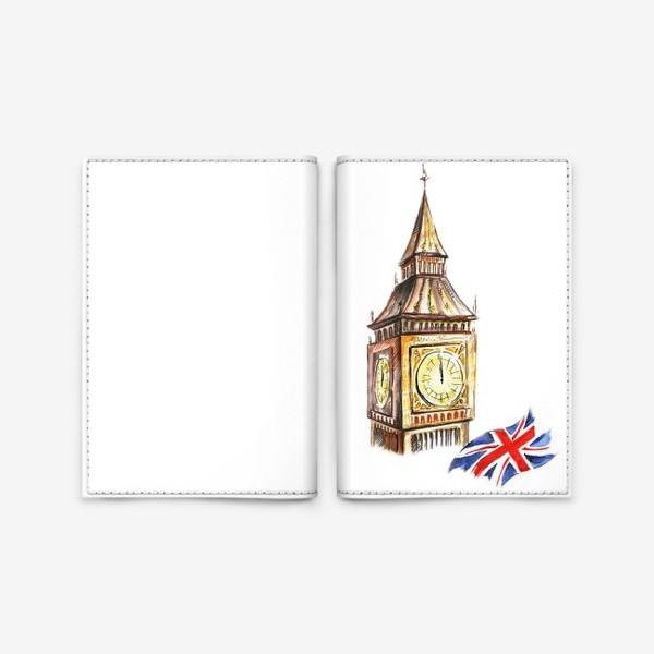 Обложка для паспорта «Англия»