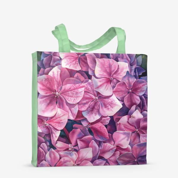 Сумка-шоппер «Spring hydrangea»