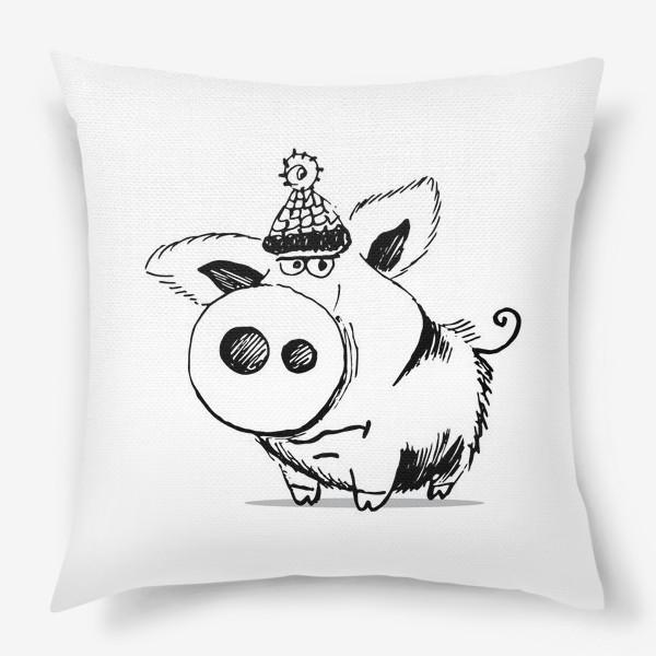 Подушка «Лютая свинья 2»