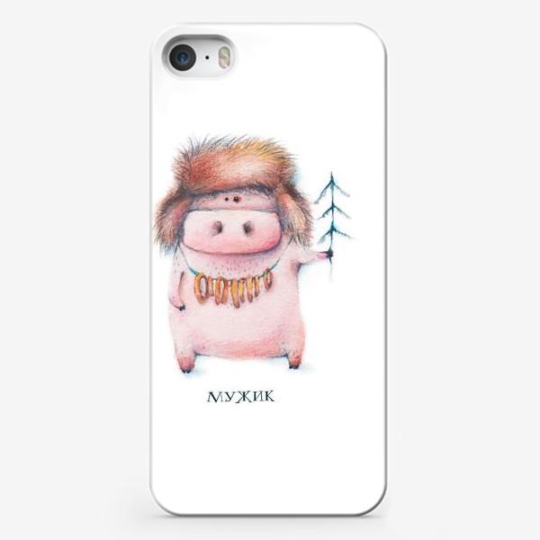 Чехол iPhone «Хрюн мужик»