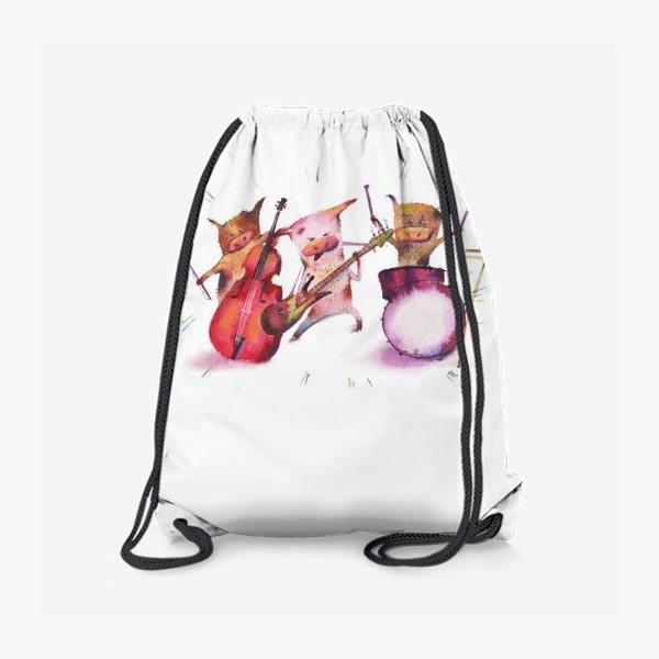 Рюкзак «Три рок поросёнка»