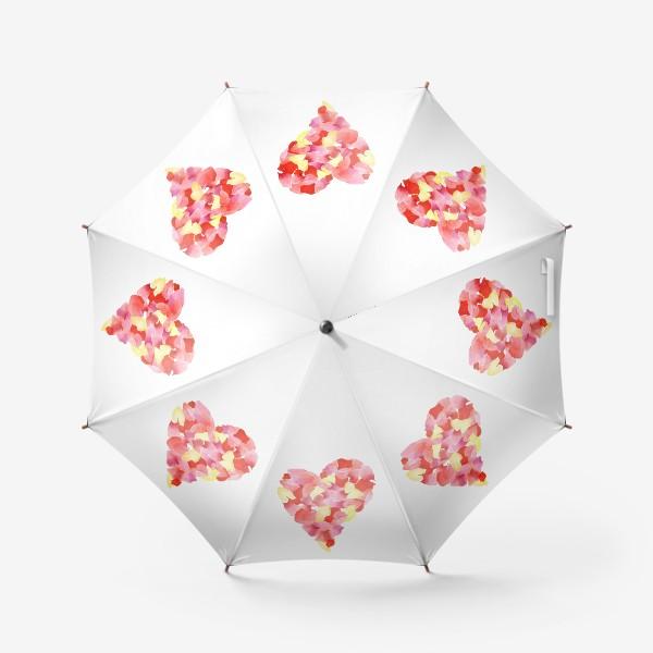 Зонт «Цветочное сердце»