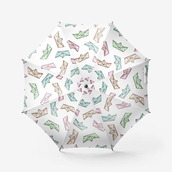 Зонт «Кораблики»