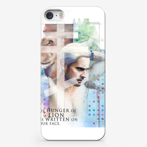 Чехол iPhone «Jared Leto -End of all days»