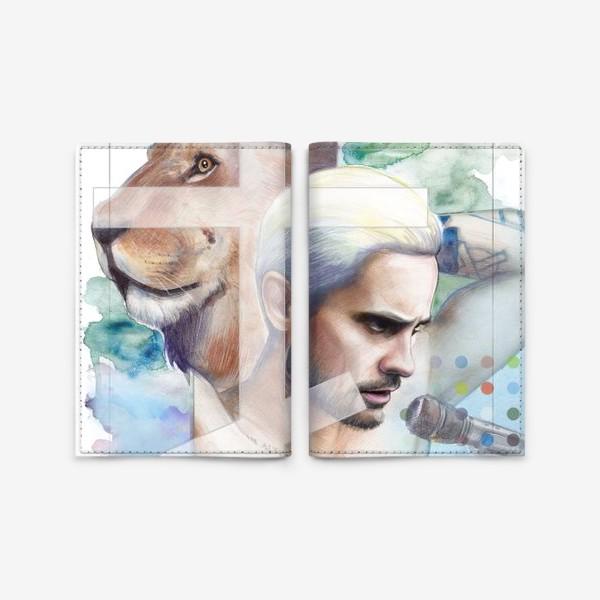 Обложка для паспорта «Jared Leto -End of all days»