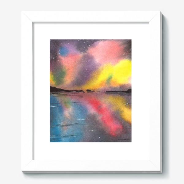 Картина «Звездное небо над водой»