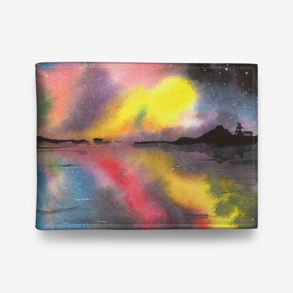 Кошелек «Звездное небо над водой»