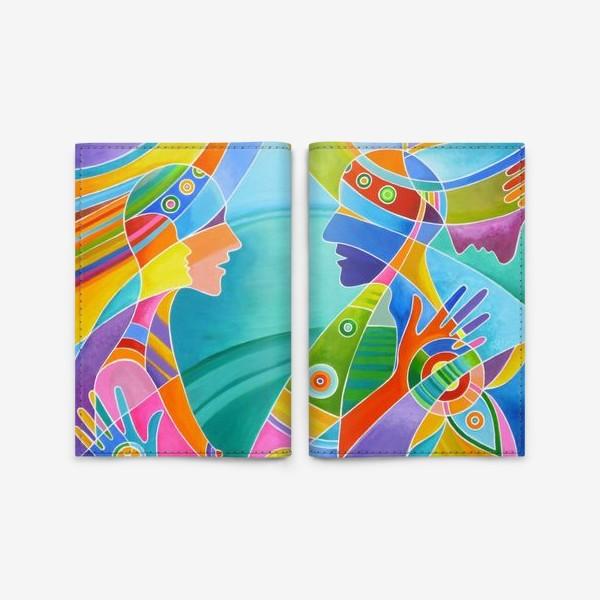 Обложка для паспорта «Гармония любви»