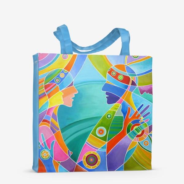 Сумка-шоппер «Гармония любви»