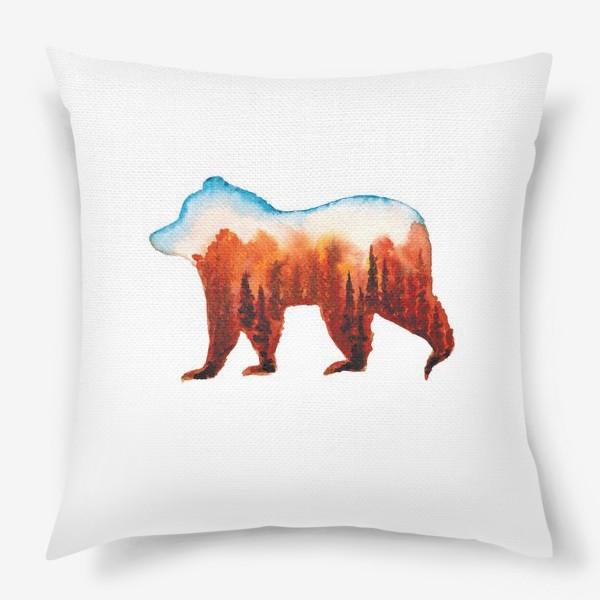 Подушка «Медведь сибирский»