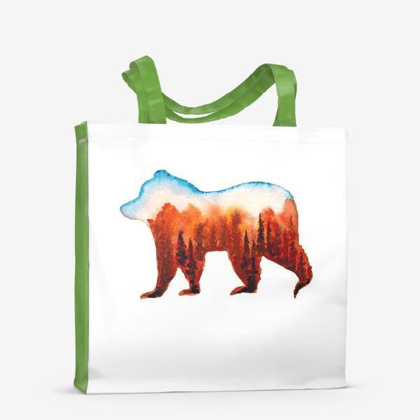 Сумка-шоппер «Медведь сибирский»