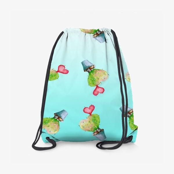 Рюкзак «Кактус влюбленный»